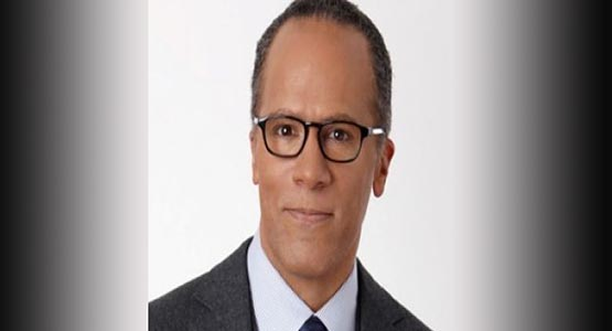 NBC Nightly News Anchor Lester Holt Named 2016 NABJ Journalist of the Year
