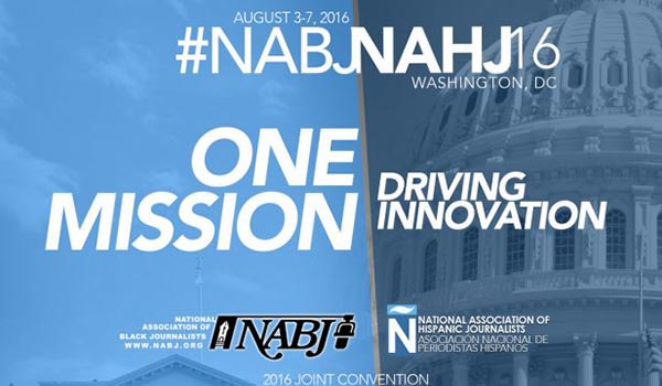 Register for 2016 NABJ, NAHJ Annual Convention and Career Fair