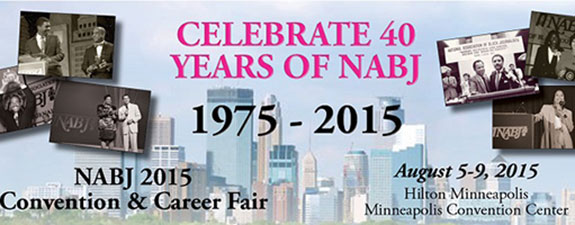 Celebrate 40 Years of NABJ with the 2015 Registration Special!